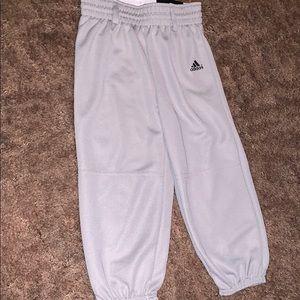 Little Boys Adidas Baseball Pants
